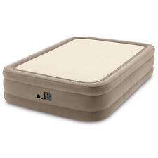 Intex 64477EP Queen Size Thermalux Airbed with Fiber-Tech Technology, Gold
