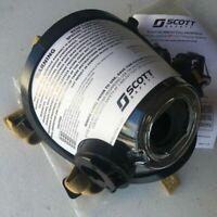 New Scott AV3000 HT Firefighter SCBA Mask ComBracket 5pt KevlarHeadnet Sz: L