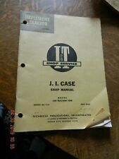 Case  1200 traction king   I&T tractor shop manual