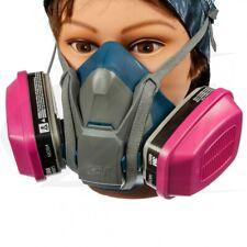 3M 6501QL & 2 EA 60921 OV/P1OO Cartridge, Multi-Purpose Respirator SMALL