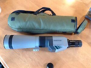 Swarovski Optik Habicht ST 80 Spotting Scope With 20x-60x zoom eyepiece