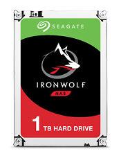 "1TB Seagate IronWolf 3.5"" 5900RPM SATA III 6Gbps 64MB Cache Internal Hard Drive"