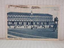 Vecchia cartolina foto d epoca di NAPOLI PALAZZO REALE PIAZZA SAGRI