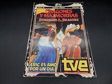 vintage Dungeons & Dragons cartoon series comic book #19 Spain 1985 Comics Forum