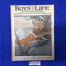 Boy Scout Boys' Life Magazine August 1922