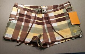 Brand NEW! with Tag Roxy Plaid Board Shorts Size 13