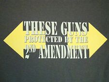 Gun Show: They're Protected By the 2nd Amendment Workout Gym Funny T Shirt XL