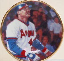 "REGGIE JACKSON California Angels Gartlan USA 3 1/4"" Plate 1986 ""Roundtripper"""