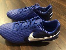 New Nike Tiempo Legend 8 Pro FG Men's Size 6.5 Soccer Cleats Blue