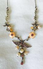 Pilgrim Genuine Swarovski Crystal And Pearl Necklace. NWT Price $12.99