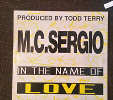 M.C. Sergio* ‎– In The Name Of Love Label: Bellaphon Vinyl LP