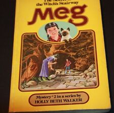 THE SECRET OF THE WITCHE'S STAIRWAY MEG HOLY BETH WALKER  Golden Press 1970 NO 2