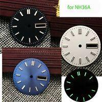 28.5MM Watch Dial Super C3 Green Luminous Dial For NH36 Movement Durable Part