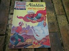 CLASSICS ILLUSTRATED JUNIOR 516 ALADDIN AND HIS LAMP 55 VERY GOOD, TRES BON ETAT