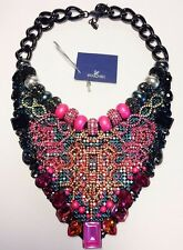 £795 Genuine SWAROVSKI Authentic Huge BEE Swan mark Necklace / Collar