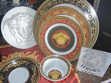 VERSACE MEDUSA 5 PIECE PLACE SETTING PLATES CUP SAUCER ROSENTHAL BEST GIFT SALE