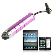 Touch Screen Stylus Pen with Audio Jack Stopper - Purple