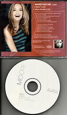 MANDY MOORE Crush 2TRX w/ RARE REMIX w PROMO RADIO DJ CD single 2001