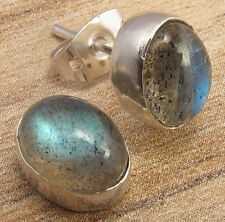 Online Jewelry Store ! Price Start From $0.99 EARRINGS LABRADORITE Silver Plated