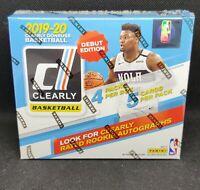 2019-20 Panini Clearly Donruss Basketball NBA Factory Sealed Hobby Box