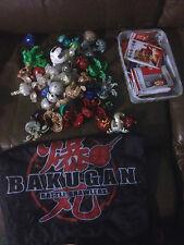 BULK LOT OF BAKU GAN BATTLE BRAWLERS CRITTERS & CARDS FREE POST (L)