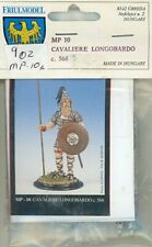 Friul Model 54mm 1:32 Cavaliere Longobardo c.568 Metal Figure Kit #MP10