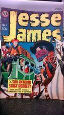 1950 Original Jesse James Avon Comic #1