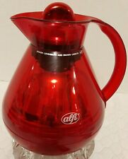 New listing Alfi Christmas Red Thermal Coffee Tea Carafe Lovegrove & Brown Made in Germany