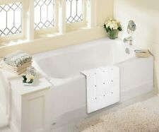 """New Foldable Non Slip Rubber Bath Mat for Textured Tub and Reglazed Tub 28""""x14"""""""