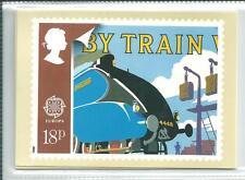 GB - PHQ CARDS -1988 - EUROPA - TRANSPORT  - BACK - FDI/SHS - COMP SET  USED