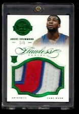 Andre Drummond 2012-13 Flawless EMERALD Patch Rookie #1/5! 1/1? Detroit Pistons!
