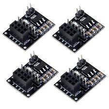 4pcs Nrf24L01+ Breakout Adapter with on-board 3.3V Regulator + Wireless Module
