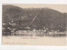 Como S Agostino e Brunate Italy Vintage U/B Postcard 711a