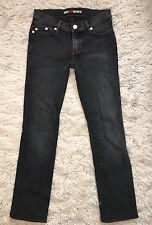 Rock and Republic faded black gray HALEN jeans sz 27 altered