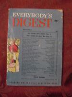 Everybody's Digest November 1953 Kenneth Rogers John K. Lageman Budd Schulberg