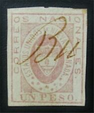 nystamps Colombia Stamp # 18 Used $380 Signed J15y462