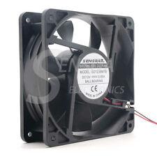 120mm 38mm case fan 12038 12cm DC 12V 0.85A powerful axial 3500RPM 140CFM