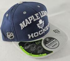 LZ Reebok Adult Fitted S/M Toronto Maple Leafs NHL Baseball Hat Cap NEW E52