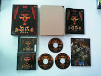 Diablo 2 II PC Big box carton FR