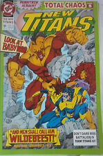 NEW TITANS n° 91 ( DC ) 1992 TOTAL CHAOS , Vends comics à 2 €