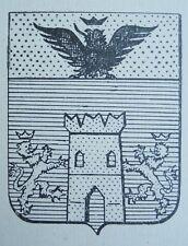 GENEALOGIA ARALDICA RIVISTA FAMIGLIA NOBILI ANNO I N.5-6 TORRE DI RIVALTA  1952