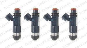 Set of 4 DENSO 0281 fuel Injector 2006-12 Mitsubishi Eclipse 2.4L 4G69 1465A051