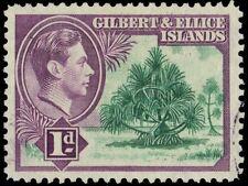 """GILBERT & ELLICE 41 (SG44) - KGVI """"Pandanus Palm"""" (pa85081)"""