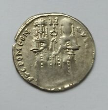 More details for ancient byzantine silver basilikon. andronicus ii and michael ix /1282-1328 ad/