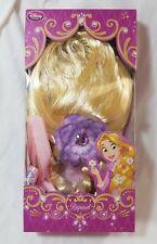 DISNEY Princess Rapunzel Wig Braided Tangled Hair Long Blonde Costume Braid