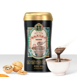Laojin Mofang Black Sesame Walnut Instant Meal Replacement Powder 600g
