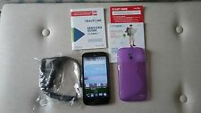 "ZTE Statos 4G LTE -  Android - 5"" TracFone - TRIPLE MINUTES FOR LIFE"