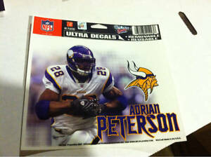 Adrian Peterson Minnesota Vikings Ultra Decal