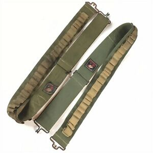 "Vintage Redhead 45"" Adjustable Army Green 24 Round 192 Shell Belts Reg 735-575"