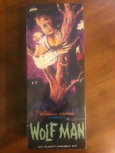 """THE WOLFMAN"" 1999 AURORA / POLAR LIGHTS - NEW IN SEALED BOX"